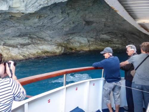 Der Versuch in die Papanikolis Cave einzudringen misslingt
