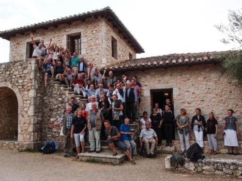 Gruppenbild beim Weinmseum